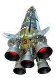 Die NASA Saturn-V-Rakete Lizenzfreie Stockfotos