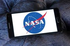 Die NASA-Weltraumagenturlogo Stockbild