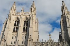 Die nationale Kathedrale lizenzfreie stockfotos