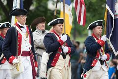 Die nationale Memorial Day -Parade stockbild