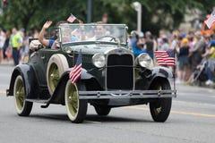 Die nationale Memorial Day -Parade lizenzfreie stockfotos