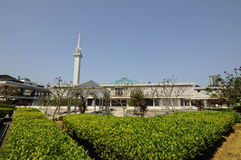 Die nationale Moschee von Malaysia a K ein Masjid Negara Lizenzfreie Stockfotos