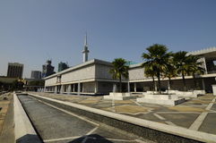 Die nationale Moschee von Malaysia a K ein Masjid Negara Stockbild