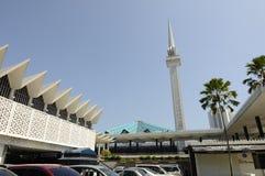 Die nationale Moschee von Malaysia a K ein Masjid Negara Lizenzfreie Stockbilder