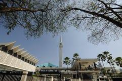 Die nationale Moschee von Malaysia a K ein Masjid Negara Stockfotos