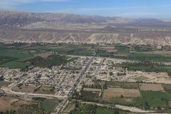 Die Nazca-Wüste Stockfoto