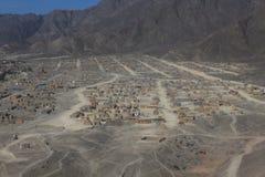 Die Nazca-Wüste Stockfotografie