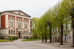 Die Neo-Renaissance-Universität von Liepaja, früher der Nicholas Stockfotos