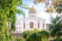 Die Neolog-Synagoge Zion in Oradea Stockfotos