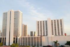 Die Neubauten in Bangkok Stockfotografie