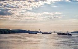 Die neue Europa-Brücke Stockfoto