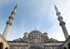 Die neue Moschee (Yeni Cami) Lizenzfreies Stockfoto