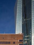 Die neuen Europäische Zentralbank-Hauptsitze, Frankfurt, stockfotos