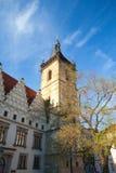 Die neuen Rathaus-Gebäude auf Charles Square, Prag Lizenzfreie Stockfotografie