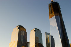 Die neuen World Trade Center-Skyline Stockfoto