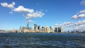 Die New- York Cityim Norden Skyline stock video