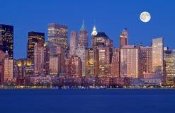 Die New- York CitySkyline Stockfotos