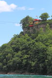 Die Niagara-Schlucht-Drahtseilbahn-Fahrt Lizenzfreie Stockbilder