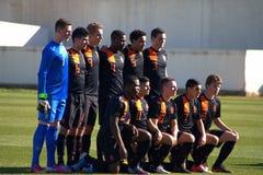 Die niederländische Nationalmannschaft U17 lizenzfreie stockbilder