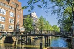 Die Niederlande Amsterdam, eine der schönsten Städte in Europa Lizenzfreie Stockbilder