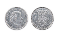 Die Niederlande eine Guldenmünze vom 1978 Stockfoto