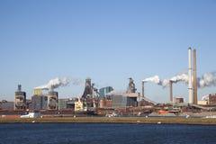 Die NIEDERLANDE, IJMUIDEN - 16. Januar 2011 Stockfotografie