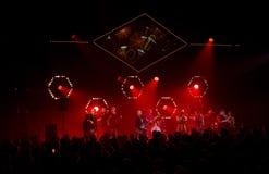 Die Nordgouverneure führt Live auf 28. April Jazz durch Stockbild