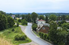 Die Nordstadt von Estland stockbild