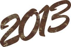 Die Nr. 2013 Stockfotografie