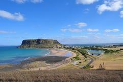 Die Nusszustandsreserve, Stanley, Tasmanien, Australien lizenzfreies stockbild