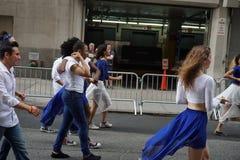 Die 2015 NYC-Tanz-Parade 18 stockbild