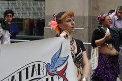 Die 2015 NYC-Tanz-Parade 70 stockbild
