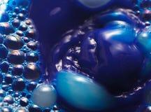 Die Oberfläche der Blase Stockfoto