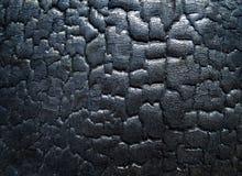 Die Oberfläche der Kohle lizenzfreies stockfoto