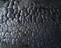 Die Oberfläche der Kohle lizenzfreie stockfotografie