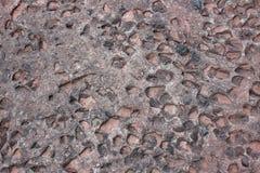 Die Oberfläche des Felsens für Wasser-Erosion entziehen Sie Hintergrund Stockfoto