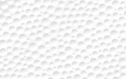 Die Oberfläche des Golfballs Lizenzfreies Stockfoto