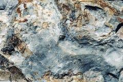 Die Oberfläche des Steins mit brauner und grauer Tönung Lizenzfreies Stockbild
