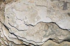 Die Oberfläche des Steins mit brauner und grauer Tönung Stockbilder