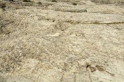 Die Oberfläche von Felsen in den Bergen Stockbild