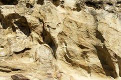 Die Oberfläche von Felsen in den Bergen Lizenzfreie Stockfotografie