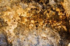 Die Oberfläche von Felsen in den Bergen Lizenzfreie Stockbilder