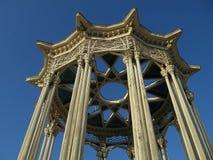 Die Oberseite der Pavillion Kultur Stockfotos