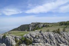 Die Oberteile Berge Lizenzfreie Stockfotografie