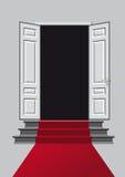 Die offene Tür Stockbild