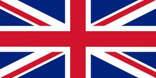 Die offizielle Flagge Großbritanniens Lizenzfreie Stockfotos