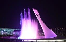 Die olympische Flamme der Schale Lizenzfreie Stockfotografie