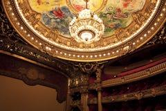 Die Oper oder der Palast Garnier. Paris, Frankreich. lizenzfreies stockfoto