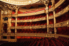 Die Oper oder der Palast Garnier. Paris, Frankreich. Lizenzfreie Stockbilder