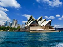 Die Oper in Sydney Australia lizenzfreie stockfotos